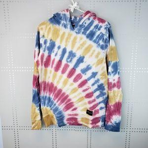 Empyre Tops | Tie Dye Hooded Sweatshirt